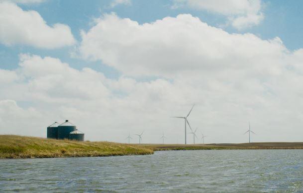 New Lighting System Installed at Merricourt Wind Farm